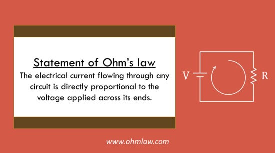 ohms-law-statement