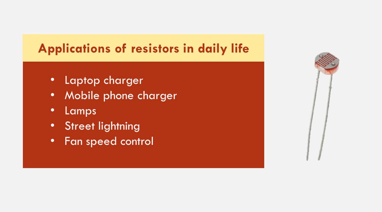 Top 5 Practical Applications Of Resistors In Our Daily Life The Definition Passive Components Are Electronic That If Complete Explanation Examples And Uses Ohm Law