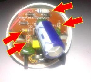 resistors-in-lamp